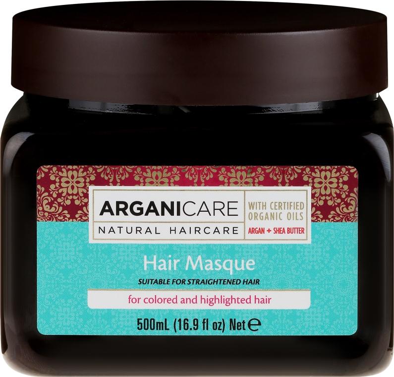 Маска с аргановым маслом для окрашенных волос - Kreogen Arganicare Argan Oil Hair Masque for Colored /Highlighted Hair