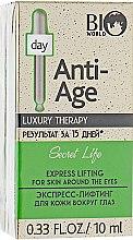 Духи, Парфюмерия, косметика Экспресс-лифтинг для кожи вокруг глаз - Bio World Secret Life Luxury Therapy Express Lifting For Skin Around The Eyes