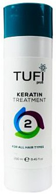 Кератин для всех типов волос - Tufi Profi Keratin Treatment