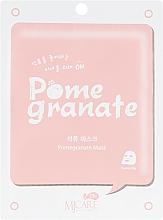 Духи, Парфюмерия, косметика Тканевая маска с экстрактом граната - MJ Care on Pomegranate Mask Pack