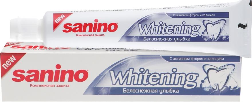 "Зубная паста ""Белоснежная улыбка"" - Sanino"