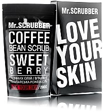Духи, Парфюмерия, косметика Кофейный скраб для лица и тела - Mr.Scrubber Sweet Berry Scrub