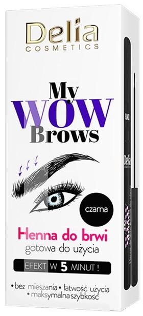 Хна для бровей - Delia Cosmetics My Wow Brows