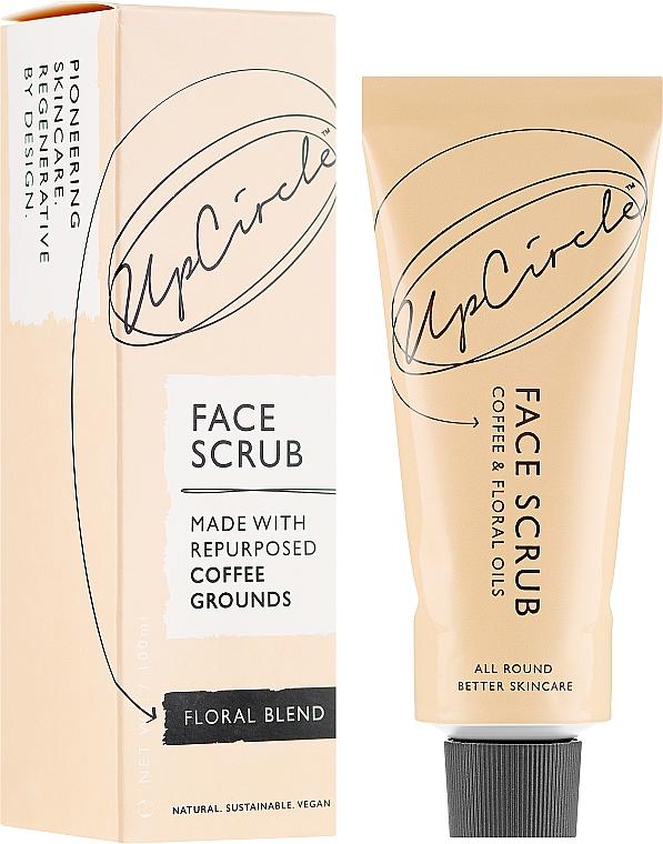 "Кофейный скраб для лица ""Цветочный"" - UpCircle Coffee Face Scrub Floral Blend"