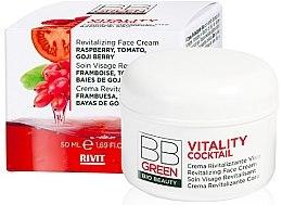 Духи, Парфюмерия, косметика Восстанавливающий крем для лица - BBGreen Vitality Cocktail