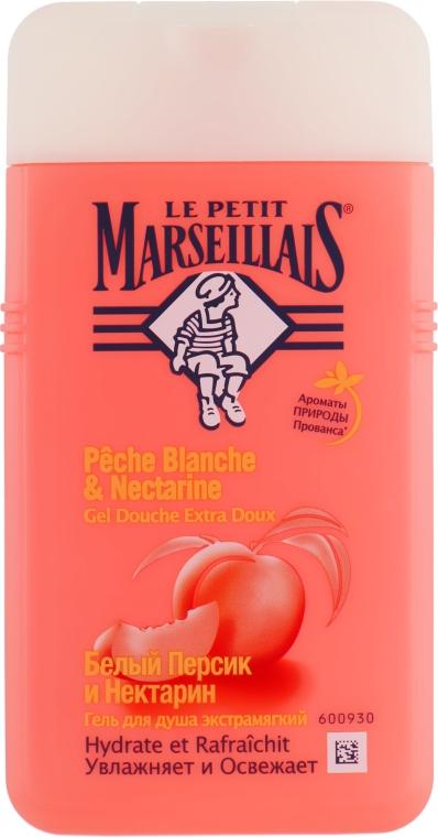 """Гель для душа """"Белый персик и нектарин"""" - Le Petit Marseillais"""