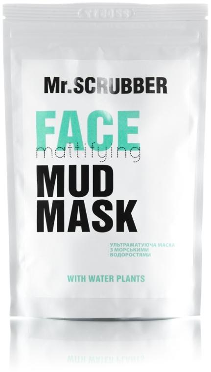Матирующая маска для лица - Mr.Scrubber Mud Mask Face Mattifying