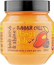 "Духи, Парфюмерия, косметика Скраб для тела ""Блеск и питание"" - MonoLove Bio Mango-Bali Nourishing"