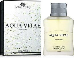 Духи, Парфюмерия, косметика Lotus Valley Aqua Vitae - Туалетная вода