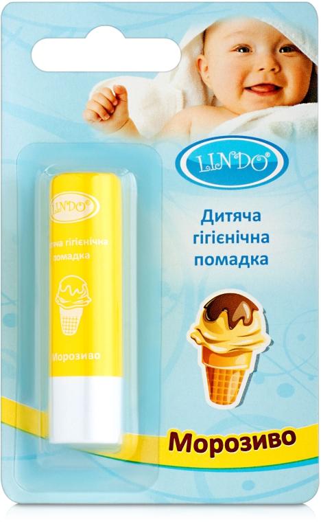 """Гигиеническая помада """"Мороженое"""" - Lindo"""