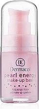 Духи, Парфюмерия, косметика База под макияж с экстрактом жемчуга - Dermacol Make-Up Base Pearl Energy (помпа)