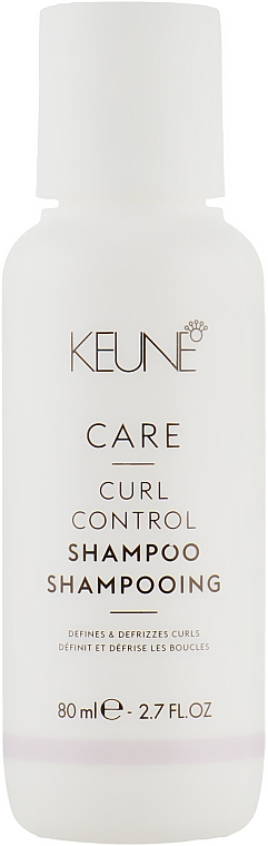 """Шампунь для вьющихся волос """"Контролируемый Локон"""" - Keune Care Curl Control Shampoo Travel Size"""