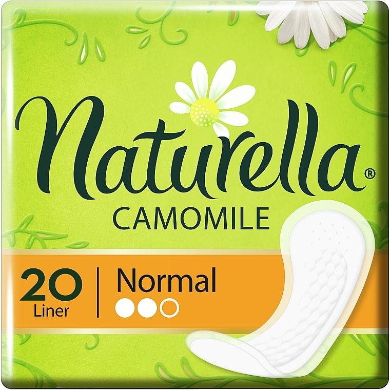 Ежедневные прокладки, 20шт - Naturella Camomile Comfort Complex Normal