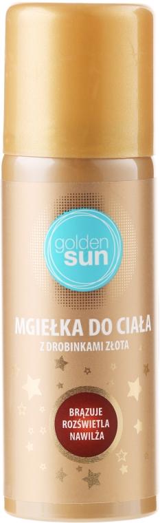 Спрей-мист для тела с частичками золота - Golden Sun Body Mist