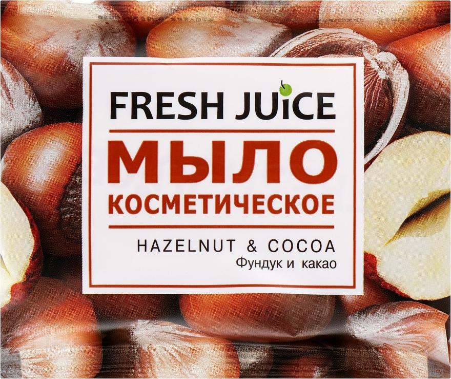 "Мило косметичне ""Фундук і какао"" - Fresh Juice Hazelnut & Cocoa — фото N1"