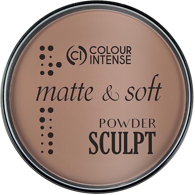 Пудра-скульптор для лица - Colour Intense Sculpting Matte Finish Pressed Powder