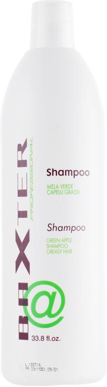 """Шампунь для жирных волос """"Зелёное яблоко"""" - Punti di Vista Baxter Professional"""