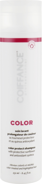 Шампунь для защиты цвета окрашенных волос - Coiffance Professionnel Color Protect Shampoo