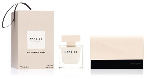 Narciso Rodriguez Narciso - Набір (edp/50ml + Pouch/1) — фото N1