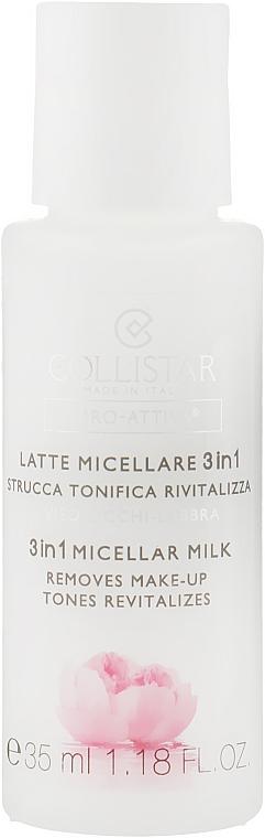 Мицеллярное молочко 3 в 1 - Collistar Idro Attiva Latte Micellare 3 in 1 (мини)