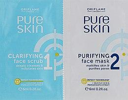 Духи, Парфюмерия, косметика Скраб и очищающая маска для лица - Oriflame Pure Skin Scrub & Mask