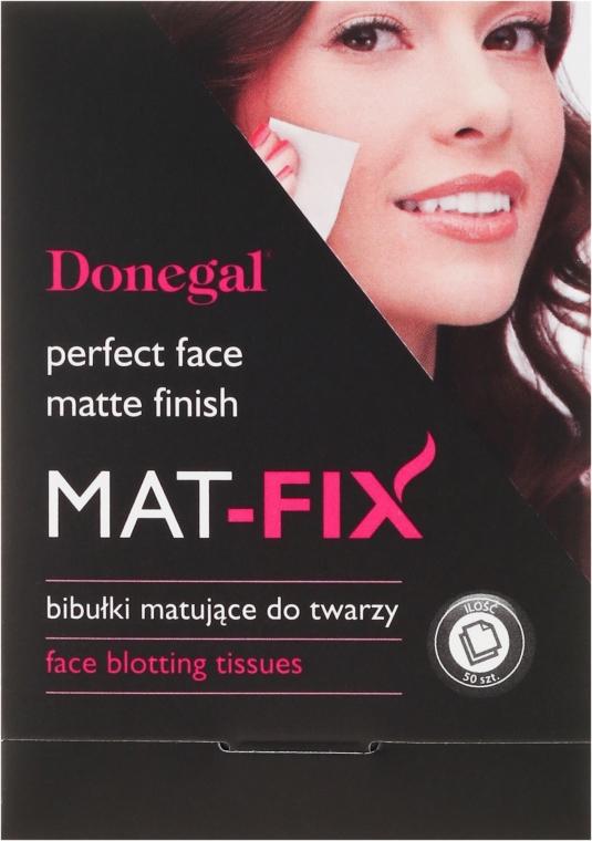 Матирующие салфетки для лица - Donegal Face Blotting Tissues Mat-Fix