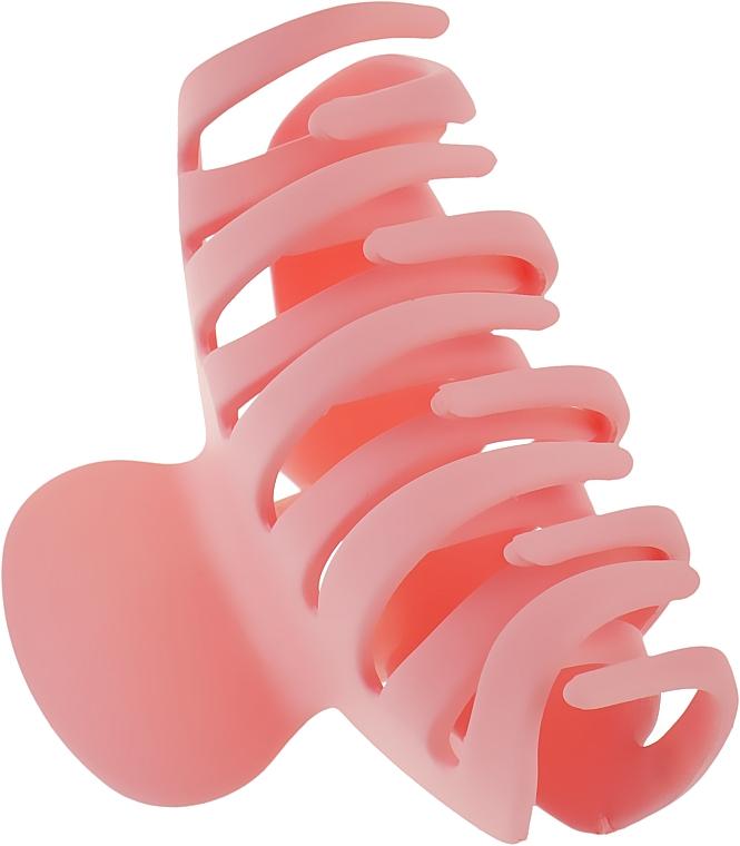 """Крабик для волос большой """"Классик"""", HA-1244, розовый - La Rosa"""