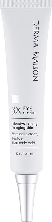 Крем для глаз со стволовыми клетками и пептидами - Medi-peel Derma Maison 3x Eye Cream