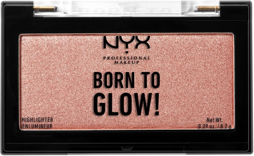 Хайлайтер для лица - NYX Professional Makeup Born To Glow Highlighter