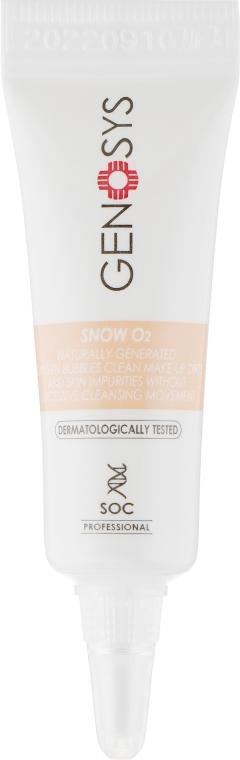 Кислородный очиститель для лица - Genosys Snow O2 Cleanser (пробник)