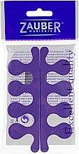 Духи, Парфюмерия, косметика Разделители для пальцев ног, 05-010, фиолетовые - Zauber