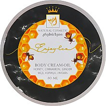 """Духи, Парфюмерия, косметика Натуральное крем-масло для тела """"Мед, имбирь и корица"""" - Enjoy & Joy Enjoy Eco Body Cream-oil"""
