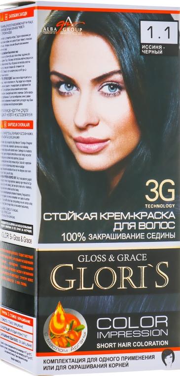 Крем-фарба для волосся на 1 застосування - Glori's Gloss&Grace — фото N1