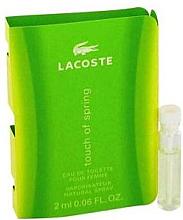 Духи, Парфюмерия, косметика Lacoste Touch Of Spring - Туалетная вода (пробник)