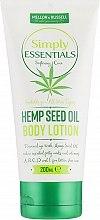 Духи, Парфюмерия, косметика Лосьон для тела - Mellor & Russell Simply Essentials Hemp Seed Oil Body Lotion
