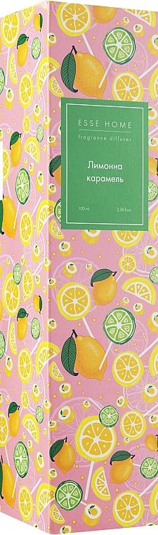 "Аромадиффузор ""Лимонная карамель"" - Esse Home Fragrance Diffuser"