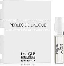 Духи, Парфюмерия, косметика Lalique Perles de Lalique - Парфюмированная вода (пробник)