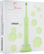 """Духи, Парфюмерия, косметика Электрическая зубная щетка """"Classic"""" - Kiss Swiss Electric Sonic Toothbrush Classic Green"""