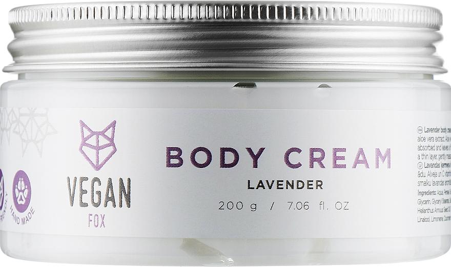 "Крем для тела ""Лаванда"" - Vegan Fox Lavender Body Cream"