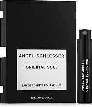 Духи, Парфюмерия, косметика Angel Schlesser Oriental Soul Pour Homme - Туалетная вода (пробник)