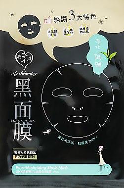 Тканевая маска для сужения пор - My Scheming Pore-Minimizing Black Mask