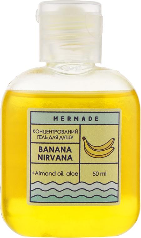 """Концентрированный гель для душа """"Банановый"""" - Mermade Banana Nirvana"""