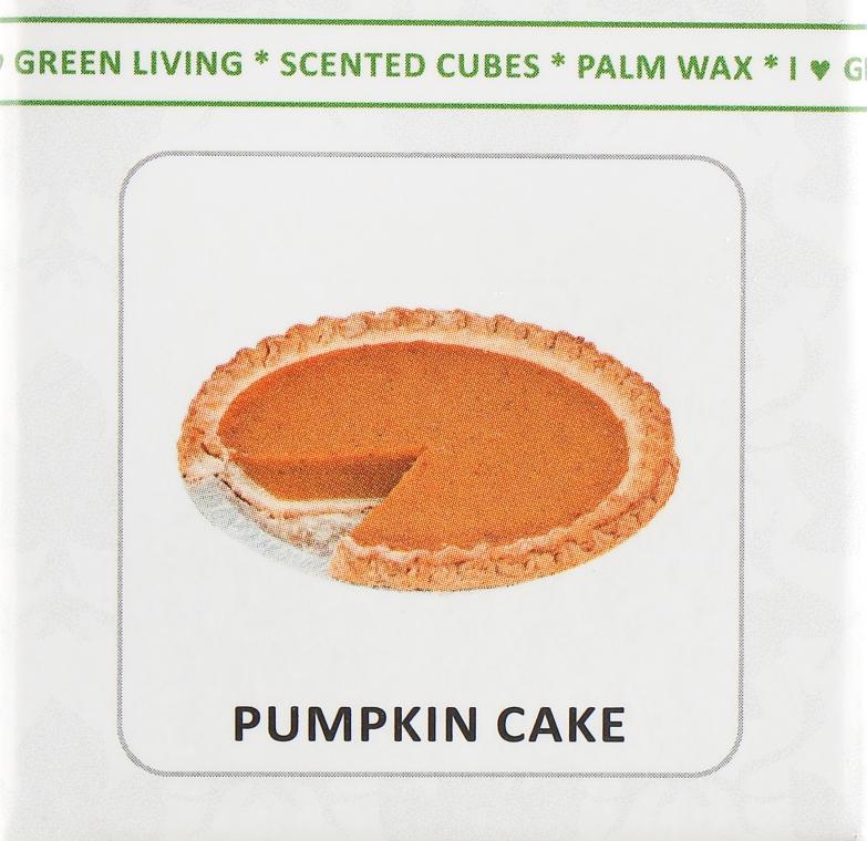 """Аромакубики """"Гарбузовий пиріг"""" - Scented Cubes Pumpkin Cake Candle — фото N2"""