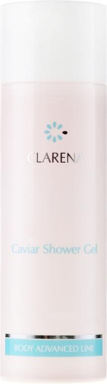 Питательный гель для душа с экстрактом икры - Clarena Caviar Shower Gel
