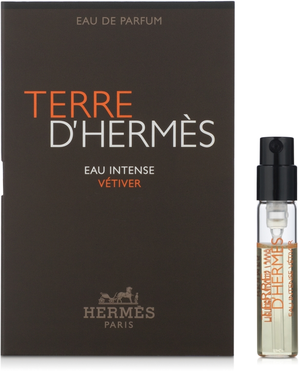 Hermes Terre d'Hermes Eau Intense Vetiver - Парфюмированная вода (пробник)