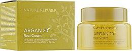 Духи, Парфюмерия, косметика Крем для лица с маслом Арганы - Nature Republic Argan 20 Real Cream