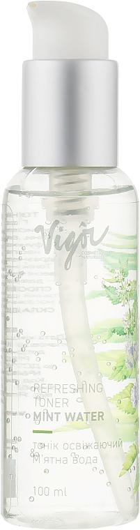 """Тоник освежающий """"Мятная вода"""" - Vigor Cosmetique Naturelle"""