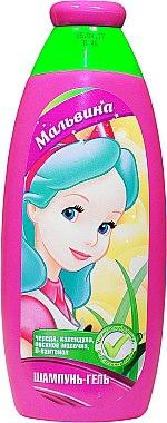 """Шампунь-гель """"Мальвина"""" 2 в 1 - Bioton Cosmetics Shampoo & Body Wash"""