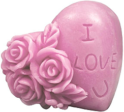 """Духи, Парфюмерия, косметика Натуральное мыло ручной работы """"Я тебя люблю"""" с ароматом вишни - LaQ Happy Soaps Natural Soap"""