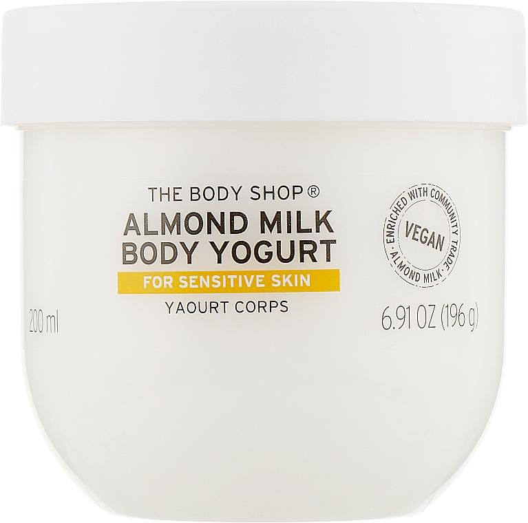 Йогурт для тела - The Body Shop Almond Milk Body Yoghurt